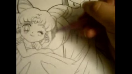 Drawing Sailor Moon