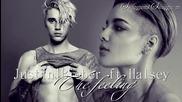 09. Justin Bieber ft. Halsey - The feeling (audio) + Текст и Превод