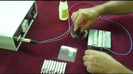 Уреди за електролитно надписване /маркиране/ на метални изделия Мg02