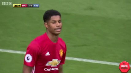 Highlights: Manchester United - Chelsea 16/04/2017
