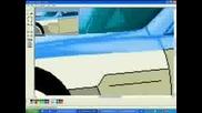 Mercedes Slr Mclaren - Перфектна Рисунка На Paint