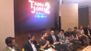 David Bisbal Rueda de prensa / Tadeo Jones 2 - Todo es posible