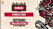 The colors of Defqon.1 mixes | Red