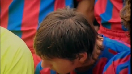 Young Lionel Messi the way from La Mesia to Fc Barcelona