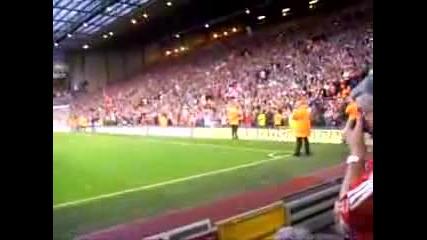 Liverpools fans