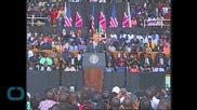 OBAMA URGES KENYA TO USE TOUGH PAST TO GUIDE FUTURE