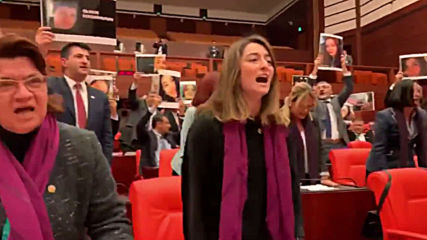 Turkey: Women lawmakers perform viral anti-femicide protest song in parliament