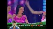 Теодора и Йоргос Яниас - За теб живея (live Balkan Music Awards 2010)