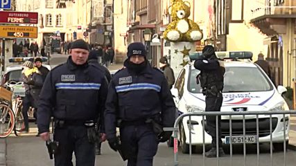 France: Security bolstered at Strasbourg Christmas market after attack