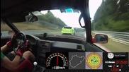 Нюрбургринг, Honda Crx и един много ядосан шофьор