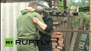 Ukraine: OSCE investigates deadly shelling in Gorlovka *GRAPHIC*