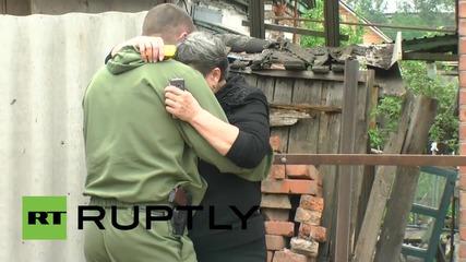 Ukraine: OSCE investigates deadly shelling in Gorlovka *GRAPHIC*