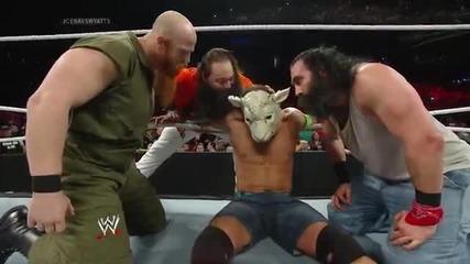 John Cena vs. Luke Harper Raw, March 24, 2014