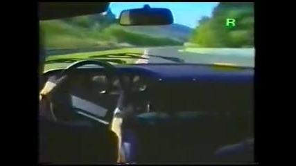 Откачен дрифт с Ruf Ctr на Nurburgring