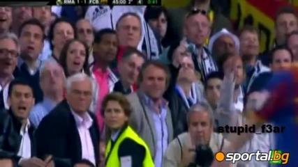 Феновете на Реал избухнаха срещу Меси !