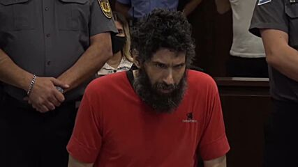 'Catman' ejected from Argentina murder trial after refusing to stop meowing
