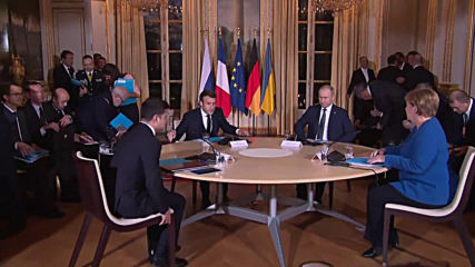 France: 'Normandy Four' talks get underway in Paris