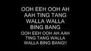 Witch Doctor - Ooh Eeh Ooh Ah Aah Ting Tang Walla Walla Bing