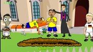 Анимации за световното: Германия 7 - 1 Бразилия