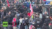 Germany: Police pepper spray anti-fascists in Cologne