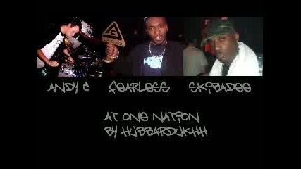 Andy C, Mc Fearless & Mc Skibadee, One Nat