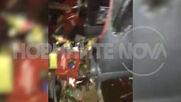 ЕКСКЛУЗИВНО: Видео от първите минути на катастрофата на пътя София-Варна