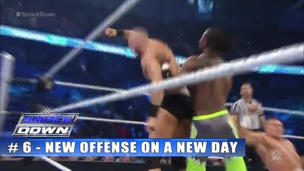 Top 10 Wwe Smackdown moments - April 30, 2015