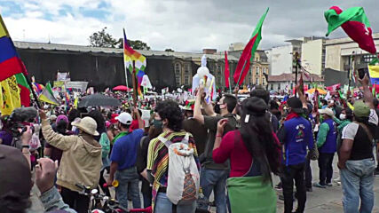 Colombia: Indigenous groups and unions lead national strike in Bogota