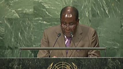 United Nations: Sanctions against Zimbabwe inhibiting Agenda 2030 - Mugabe