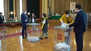 Russian citizens vote in State Duma elections abroad