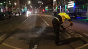 Netherlands: Clean-up underway in The Hague after night of anti-lockdown riots
