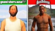 GTA 5 Worst Graphics Possible VS GTA SA PC