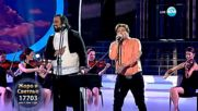 Жоро и Светльо като Bryan Adams & Luciano Pavarotti -