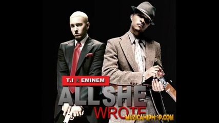 T.i. Feat Eminem - All she wrote (laser Animation Video)