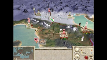 rome total war tutorial campaign епизод 1
