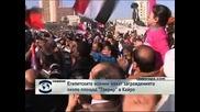 """Египетските военни махат загражденията около площад """"Тахрир"""" в Кайро"""