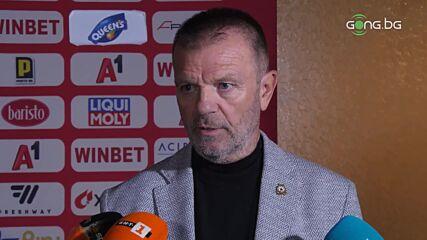 Стойчо: Вместо да разгромим Славия, те ни отнеха две точки