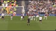 Манчестър Юнайтед 4 - 2 Уест Хям Уейн Рууни Страхотен Гол От Фаул *hq*
