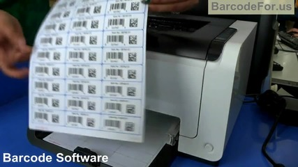 Design linear and 2d barcode for tracking information