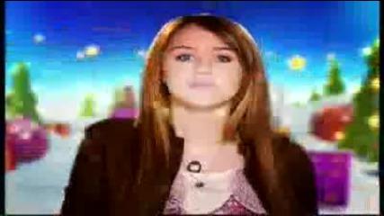 Disney Channel Christmas Ident 2009 - Hannah Montana