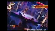 Christina Aguilera - I TURN TO YOU Much Music Argentina 2000