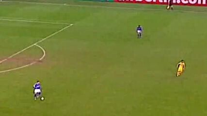 Шалке 04 - Левски София Купа на Уефа четвъртфинал второ полувреме