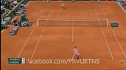 Lucie Safarova vs Garbine Muguruza - French Open 2015