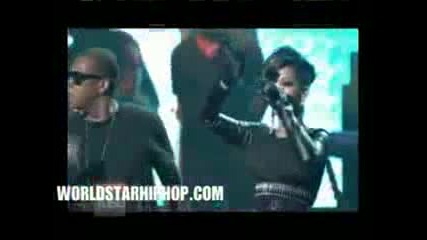 [live] Rihanna feat. Jay - Z & Kanye West - Run This Town