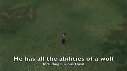 hunter tames worgen