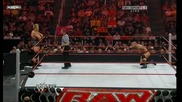 Raw 06/29/09 Randy Orton vs Jack Swagger [ Gautlet match 3 on 1]*втора част*
