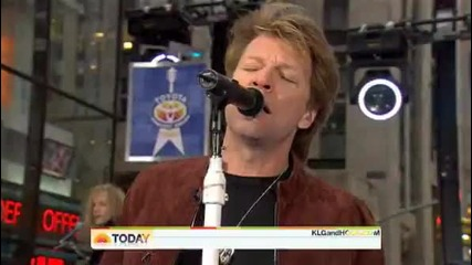 Bon Jovi - Work For The Working Man (live 25.11.2009)