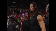 Wwe - The Shield vs. The Wyatts/ Щит cрещу семейство Лаят