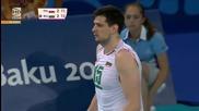 Волейболистите на България на финал - Европейски игри Баку 2015