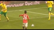 Манчестър Юнайтед 4:0 Норич- първият хетрик на японец в лигата